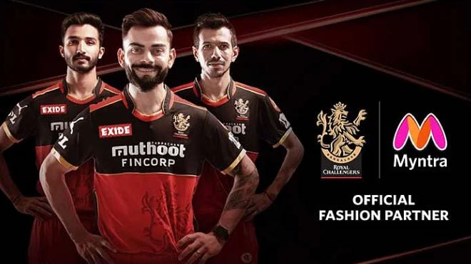 IPL 2021: Royal Challengers Bangalore sign Myntra as Official Fashion Partner