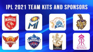 IPL 2021 Team Kits and Official Sponsors