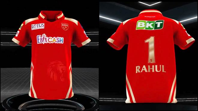 Punjab Kings Sponsors and Kit for IPL 2021
