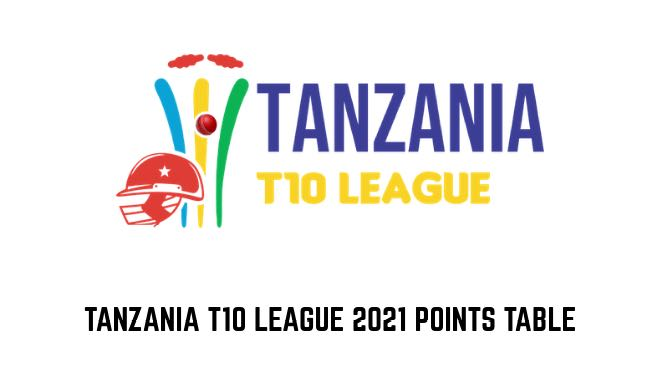 Tanzania T10 League 2021 Points Table and Team Standings
