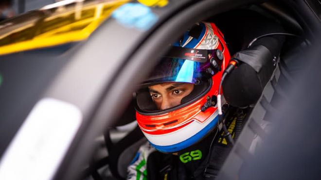 Akhil Rabindra hopes for a podium finish at the familiar Circuit Paul Ricard this weekend