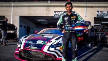 Akhil Rabindra inches closer to Aston Martin Racing Drivers contract