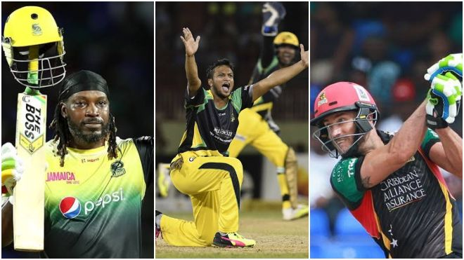 CPL 2021: Gayle returns to CPL and back with Patriots; Shakib back with Tallawahs; Faf du Plessis joins St Lucia Zouks