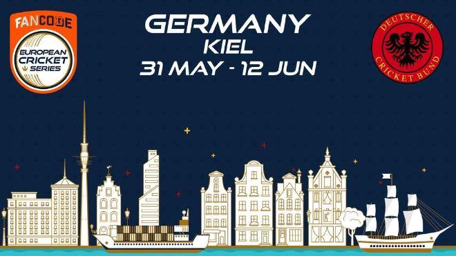 ECS T10 Kiel 2021 Points Table: ECS Germany, Kiel 2021 Standings