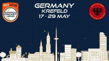 ECS T10 Krefeld 2021 Points Table: ECS Germany, Krefeld 2021 Standings