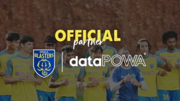 Kerala Blasters FC partners with DataPOWA