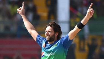 PSL 2021: Shahid Afridi ruled out due to back injury