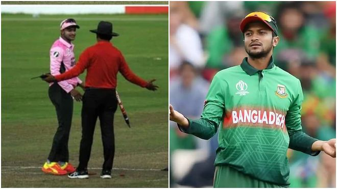 BCB suspended Shakib Al Hasan for 3 Dhaka Premier League matches for angry outbursts