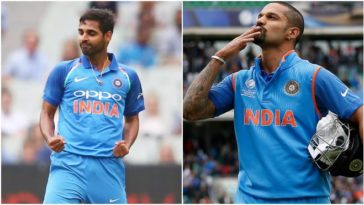 BCCI announced India's squad for ODI and T20I series against Sri Lanka; Dhawan to lead