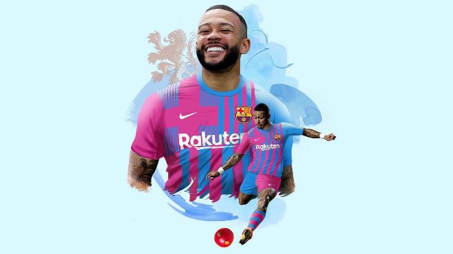 Barcelona gets Memphis Depay on Free Transfer from Lyon on a two-year deal