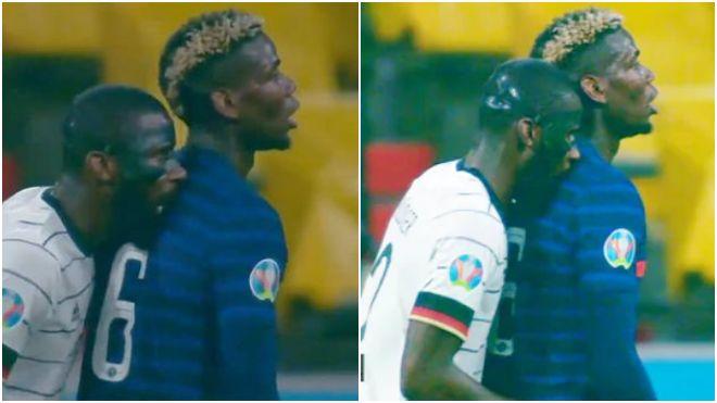 Euro 2020: I think he 'nibbled' on me!: Paul Pogba on Antonio Rudiger