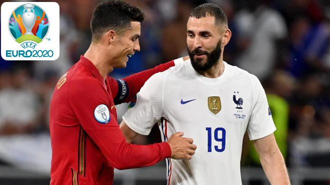 Euro 2020: Portugal and France play out a high octane draw as Ronaldo and Benzema score braces