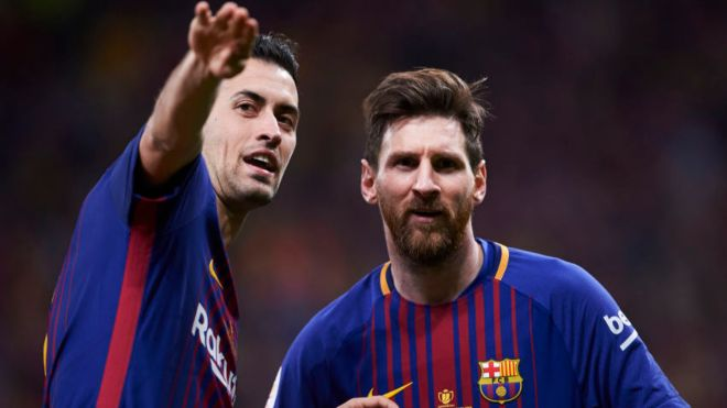 I want him to stay: Sergio Busquets doesn't want Lionel Messi to leave Camp Nou