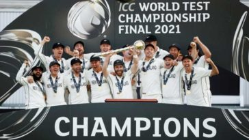ICC WTC Final: New Zealand are the first Test champions of the world; Beats India by 8 wickets