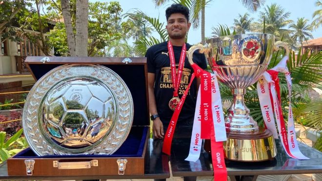 ISL 2021-22: Amey Ranawade signs four-year contract extension with Mumbai City FC
