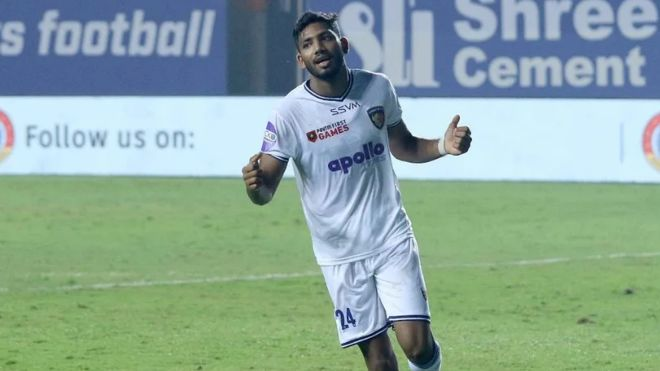 ISL 2021-22: Forward Rahim Ali signs contract extension with Chennaiyin FC to stay till 2023