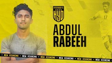 ISL 2021-22: Hyderabad FC sign winger Abdul Rabeeh AK