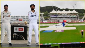 India vs New Zealand World Test Championship Final Day 1 called off due to rain