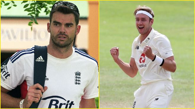 James Anderson deletes old tweet where he called Stuart Broad a 'lesbian'