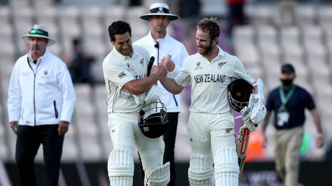 Kane Williamson and Ross Taylor showed what true batting in a Test match looks