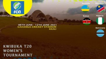 Kwibuka Women's T20 Tournament 2021 Points Table and Standings