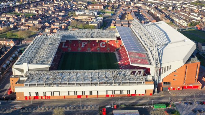 Liverpool's Anfield set to be renovated to increase capacity to 61,000