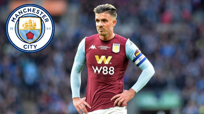 Manchester City make £100 million move for Jack Grealish; Aston Villa in no mood to sell