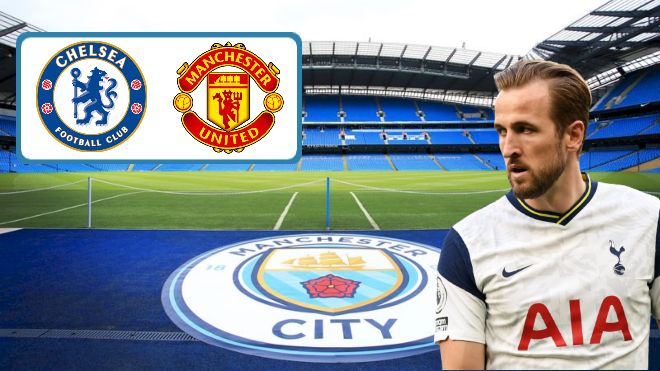 Manchester City make a whopping £100 million bid for Harry Kane; Chelsea and Manchester United also interested