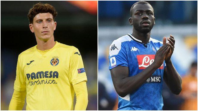 Manchester United set their eyes on Pau Torres; Carlo Ancelotti has Napoli star Kalidou Koulibaly on wishlist