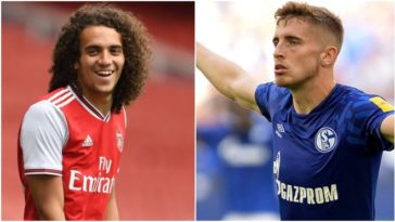 Matteo Guendouzi is set to leave the Gunners; Arsenal interested in Jonjoe Kenny