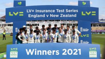 New Zealand tops the ICC Test rankings after securing series win against England