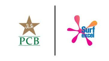 PCB signs Surf Excel as Pakistan men's team's official detergent partner