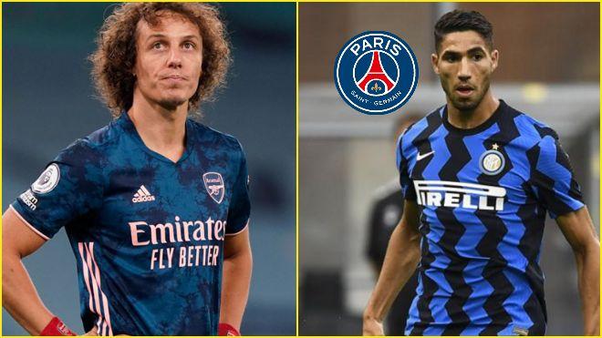 Paris Saint-Germain agree on terms with Achraf Hakimi; Shock David Luiz return on the cards