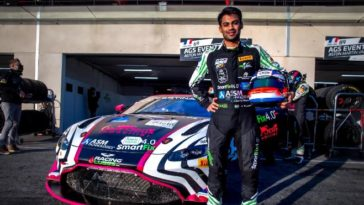 Technical glitch plays spoilsport for Akhil Rabindra at Circuit Paul Ricard