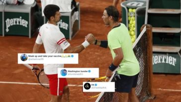 This is not just tennis!: Indian cricketers are astonished after seeing Nadal vs Djokovic