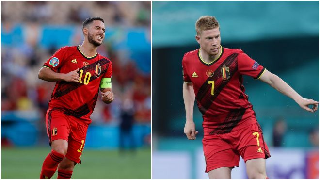 UEFA Euro 2020: Roberto Martinez gives update on Belgium's Kevin De Bruyne and Eden Hazard