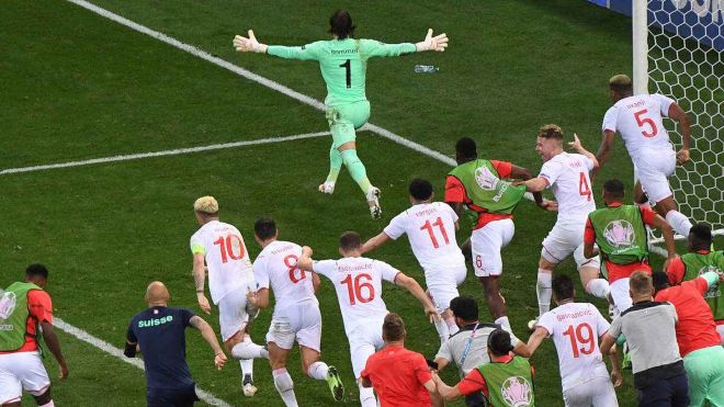 UEFA Euro 2020: Switzerland 'Shock' France to advance to the quarterfinals