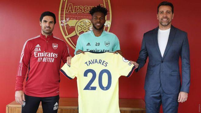 Arsenal new boy Tavares impresses in pre-season friendly against Rangers