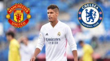Chelsea looking to hijack Manchester United bound Raphael Varane