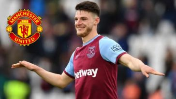 Declan Rice wants to leave West Ham United; Chelsea and Manchester United interested