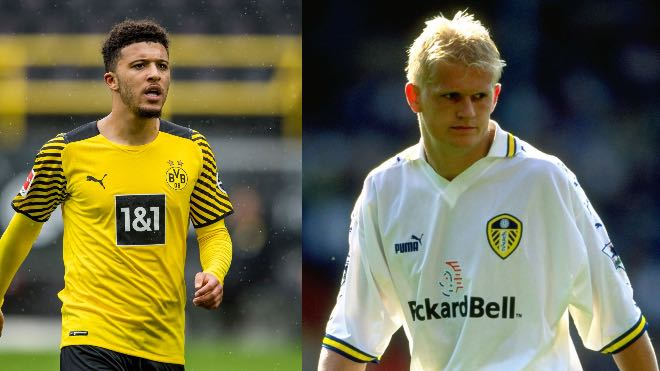 F*ck: Erling Haaland's father is shocked to see Jadon Sancho go to Manchester United