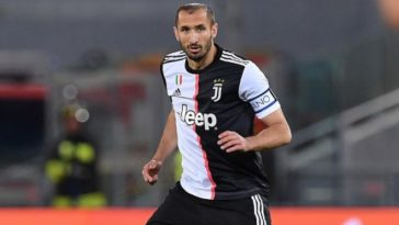 Giorgio Chiellini set to sign contract extension with Juventus next week
