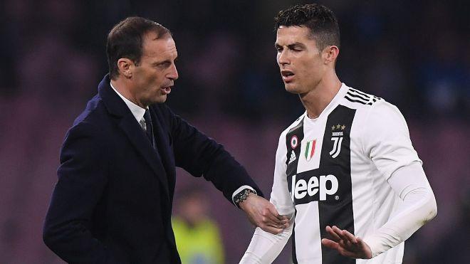 He has to take more responsibility: Massimiliano Allegri warns Cristiano Ronaldo