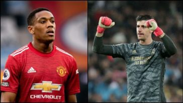 He is a star player? : Thibaut Courtois insults Manchester United striker Anthony Martial