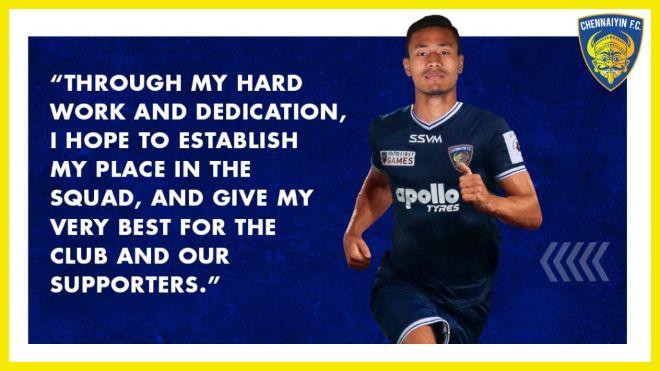 ISL 2021-22: Chennaiyin FC sign central defender Salam Ranjan Singh