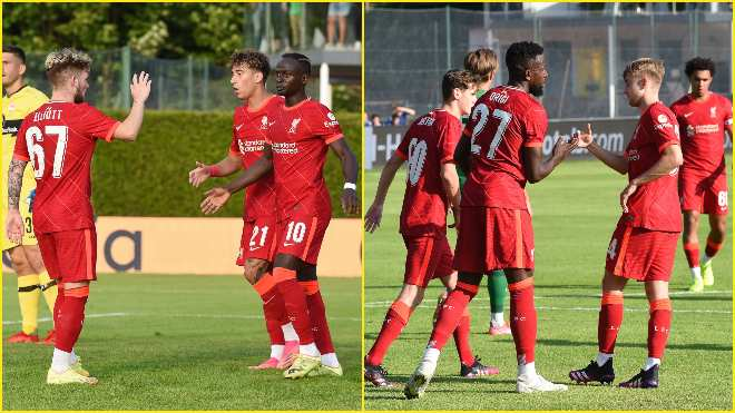 Liverpool youngsters shine in pre-season training at Austria