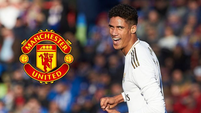 Manchester United sign up Raphael Varane from Real Madrid