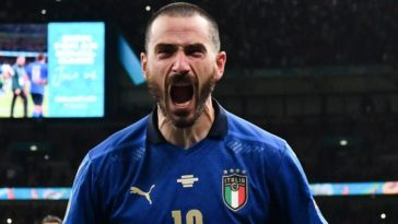 More pasta, you need more pasta!: Leonardo Bonucci mocks England fans after Euros win