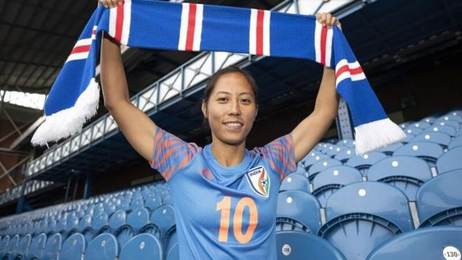 Ngangom Bala Devi bags AIFF's Women's Footballer of the Year award