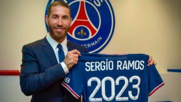 Paris Saint-Germain announce the signing of Sergio Ramos